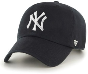 '47 Women's Clean Up Ny Yankees Baseball Cap - Black