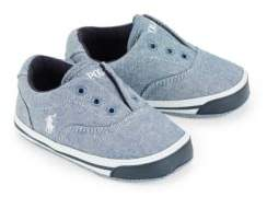 Ralph Lauren Baby's Layette Vito II Chambray Slip-On Sneakers