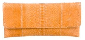 Carlos Falchi Long Python Clutch