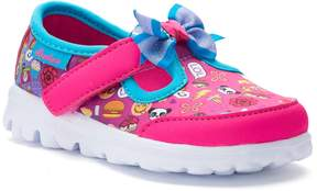 Skechers GOwalk Bow-Moji Toddler Girls' Sneakers