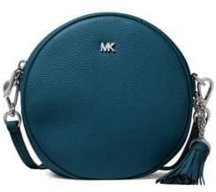 MICHAEL Michael Kors Tassel Medium Leather Canteen Crossbody Bag