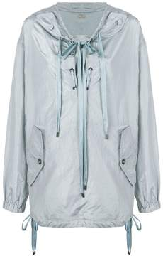 Bottega Veneta arctic silk jacket