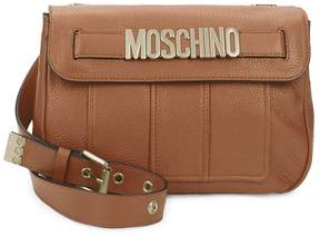 Moschino Women's Magnetic-Flap Leather Crossbody Bag