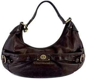 Marc Jacobs Brown Pebbled Leather Shoulder Bag - BROWN - STYLE