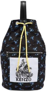 Kenzo Memento Printed Nylon Backpack
