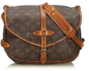Louis Vuitton Pre-owned: Monogram Saumur 30