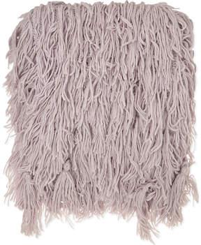 A.F.Vandevorst Ladies Pink Luxury Tripper Virgin Wool-Alpaca Blend Poncho