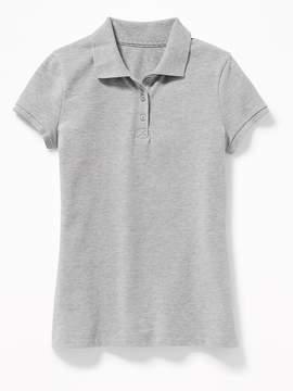 Old Navy Uniform Pique Polo for Girls