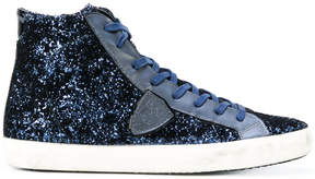 Philippe Model Lens sneakers with glitter