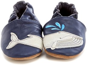 Robeez Baby Boys' Newborn-18 Months Let s Go Swimming Shoes