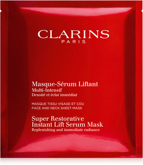 Clarins Super Restorative Instant Lift Serum Mask, 5-Pk.