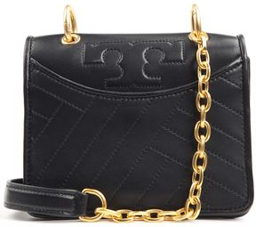 Tory Burch Mini Alexa Quilted-leather Shouder Bag - BLACK - STYLE