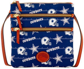 Dooney & Bourke Dallas Cowboys Nylon Triple Zip Crossbody - NAVY - STYLE