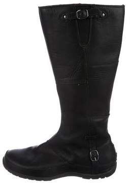 The North Face Leather Knee-High Boots