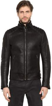 Belstaff Westlake Shearling Leather Jacket