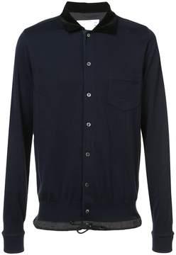Sacai front button pullover