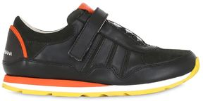 Nappa Leather Strap Sneakers