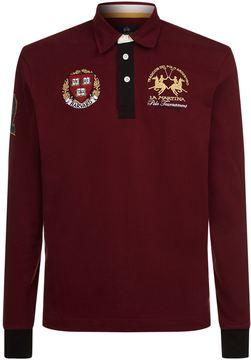 La Martina Harvard Jersey Polo Shirt