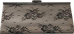 Jessica McClintock Sloan Shimmer Lace Framed Clutch