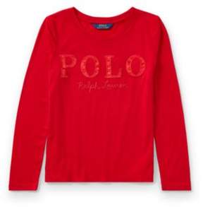 Polo Ralph Lauren Long-Sleeve T-Shirt Park Ave Red S