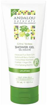 Andalou Naturals Verbena Uplifting Shower Gel - Citrus - 8.5 oz