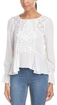 Flying Tomato Lace-trim Top.