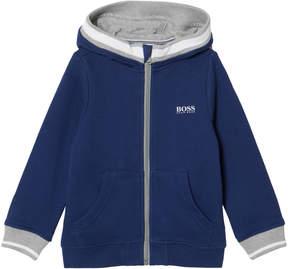 BOSS Blue Branded Hoodie