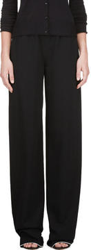 Calvin Klein Collection Black Telma Fluid Panama Lounge Pants