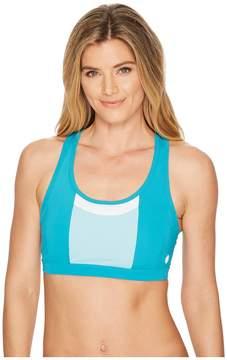 Asics Solution Dye Color-Block Bra Women's Bra