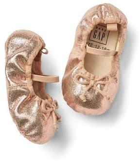 Gap Shimmer ballet flats
