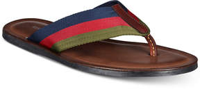 Kenneth Cole Men's Kirby Stripe Thong Sandals Men's Shoes