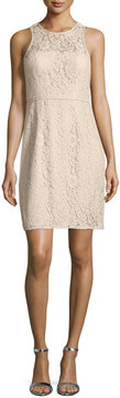 Donna Morgan Sleeveless Lace Sheath Dress