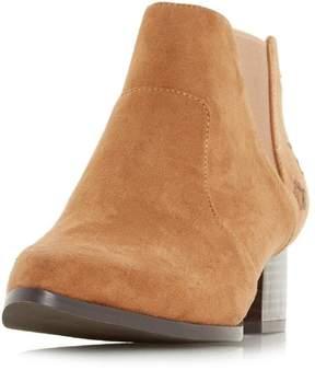 Head Over Heels *Head Over Heels by Dune Tan 'Starry' Ankle Boots