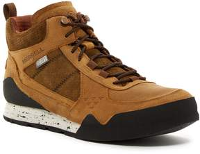 Merrell Burnt Rock Mid Waterproof Sneaker