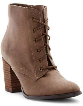 Restricted Time Out Block Heel Bootie
