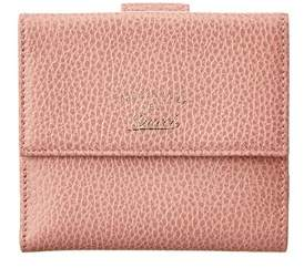 Gucci Pink Leather Swing Compact Wallet. - PINK MULTI - STYLE