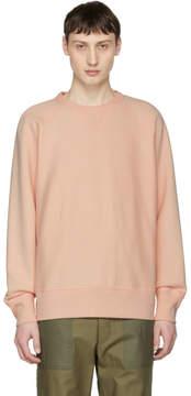 Rag & Bone Pink Racer Sweatshirt