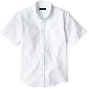 Izod EXCLUSIVE Short Sleeve Oxford Shirt - Preschool Boys 4-7