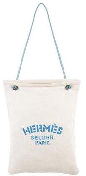 Hermes Sellier Toile Grooming Bag - BLUE - STYLE