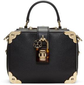 Dolce & Gabbana Black Leather Box Bag