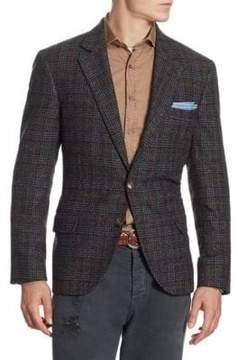 Brunello Cucinelli Windowpane Suit Jacket
