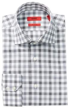 HUGO BOSS Gerald Plaid Print Regular Fit Woven Shirt