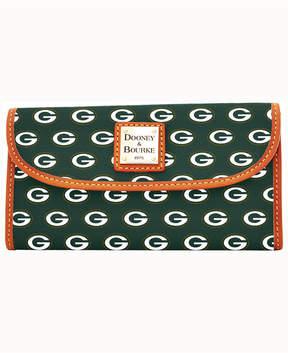 Dooney & Bourke Green Bay Packers Clutch - GREEN - STYLE
