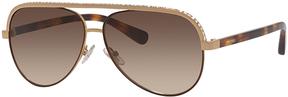 Safilo USA Jimmy Choo Lina Aviator Sunglasses