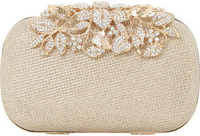 Dune Emberrs embellished clasp clutch bag