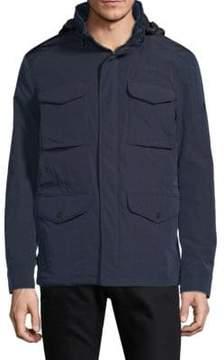 J. Lindeberg Hooded Zip Jacket