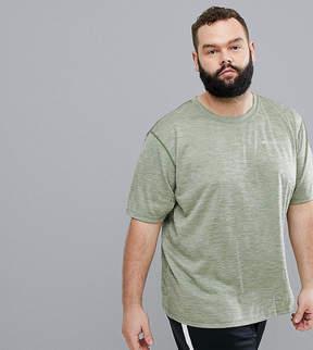 Columbia Plus Size Zero Rules Technical Logo T-Shirt in Green