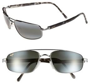 Maui Jim Men's 'Kahuna -Polarizedplus2' 59Mm Sunglasses - Gunmetal