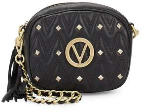 Mario Valentino Valentino by Women's Nina Studded Leather Crossbody Bag