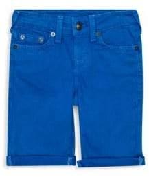True Religion Toddler's, Little Boy's& Boy's Geno Denim Shorts